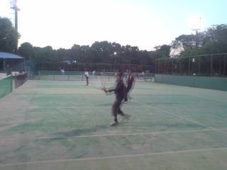 金井テニス