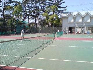 西浜公園テニスコート